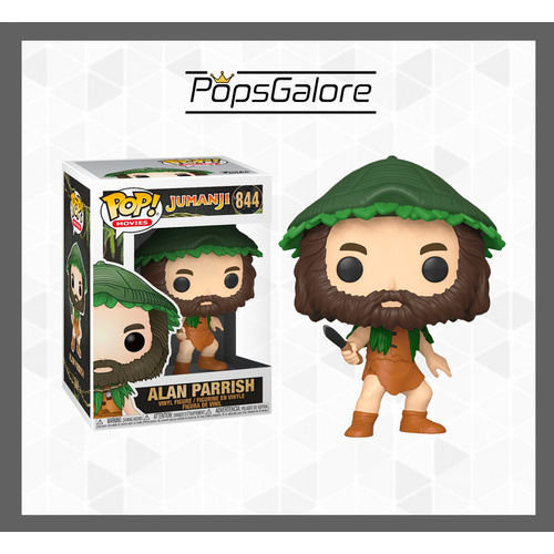 Jumanji - Alan Parrish with Knife - Pop Vinyl