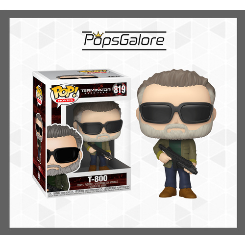 Terminator Dark Fate - T-800 - Pop Vinyl