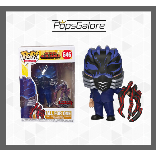 My Hero Academia - All For One Battle Hand #646 - Pop Vinyl