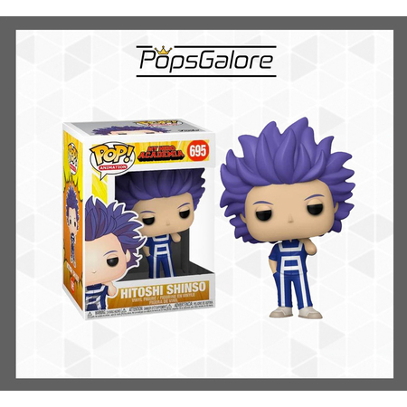 My Hero Academia - Hitoshi Shinso #695 - Pop Vinyl