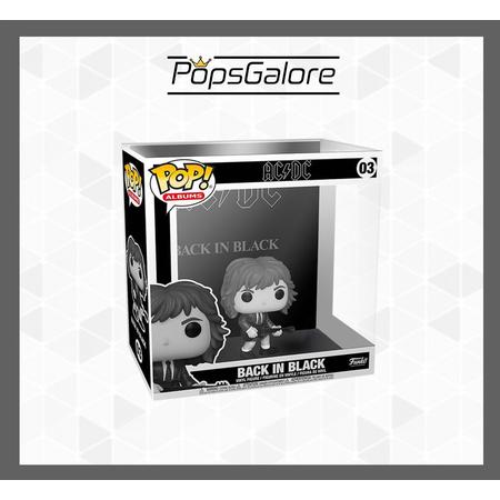 "AC/DC - Back in Black ""Black & White"" #03 - Funko Pop Album"