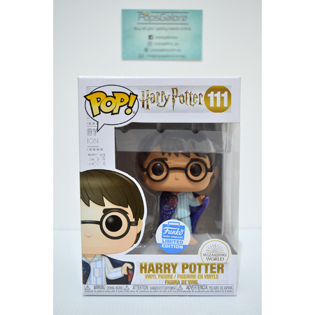 Harry Potter with Invisible Cloak #111 (Funko Shop) - Pop Vinyl